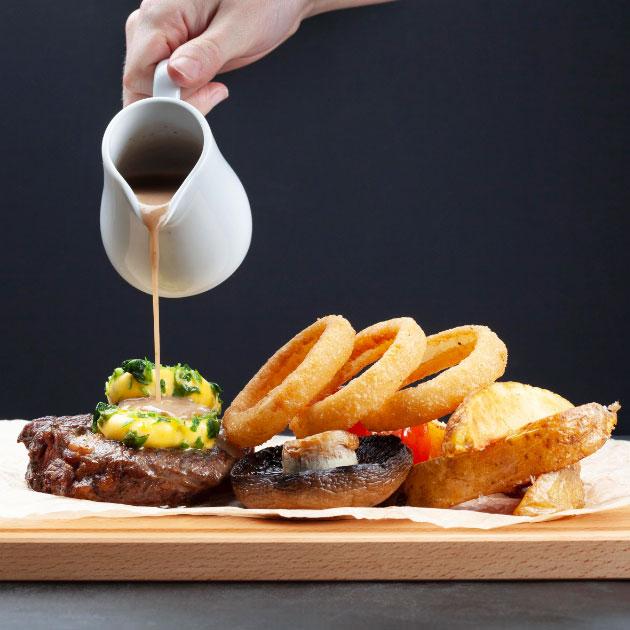 brasserie food elfordleigh hotel