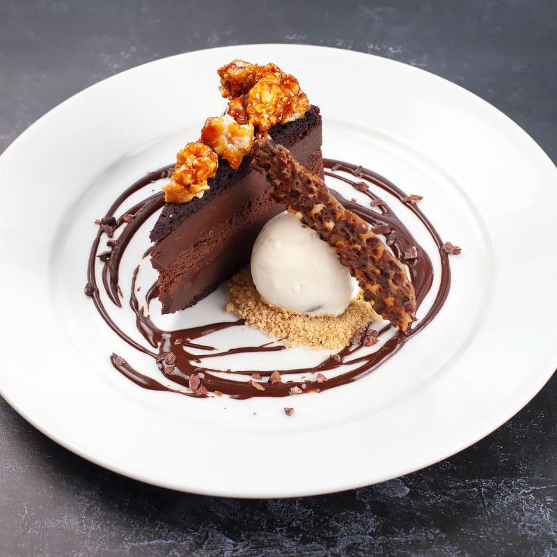 food restaurant desserts